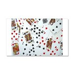 Playing Cards Car Magnet 20 x 12