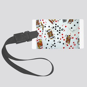 Playing Cards Large Luggage Tag