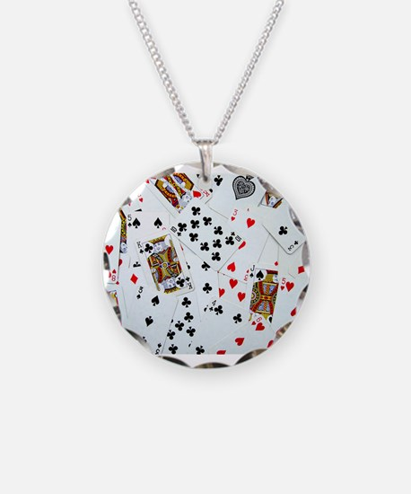 Playing Cards Necklace