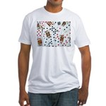 Playing Cards Fitted T-Shirt