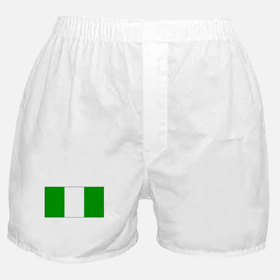 Nigeria Nigerian Blank Flag Boxer Shorts