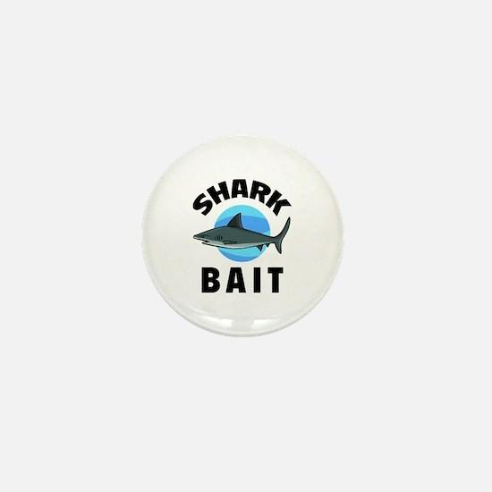 Shark Bait Mini Button