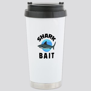 Shark Bait Stainless Steel Travel Mug
