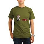 International Karate IK+ Organic Men's T-Shirt (da