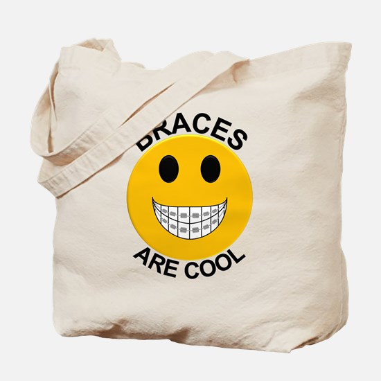 Braces Are Cool Tote Bag