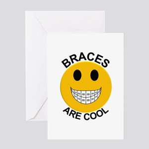 Braces Are Cool Greeting Card