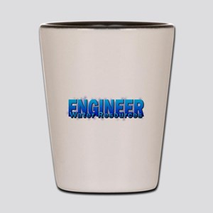 Water Resources Engineer Shot Glass