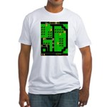 Mr Do! Game Screen Fitted T-Shirt