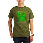 Mr Do! Game Screen Organic Men's T-Shirt (dark)