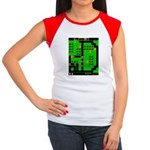 Mr Do! Game Screen Women's Cap Sleeve T-Shirt