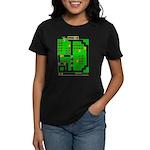 Mr Do! Game Screen Women's Dark T-Shirt