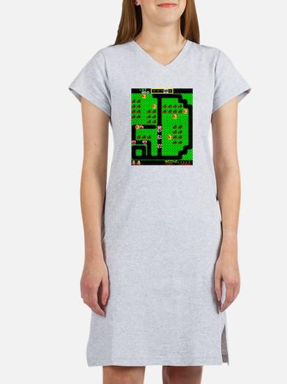 Mr Do! Game Screen Women's Nightshirt