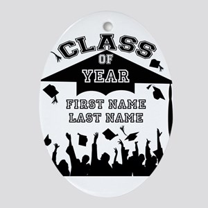 Graduation Ornament (Oval)