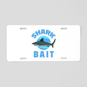 Shark Bait Aluminum License Plate