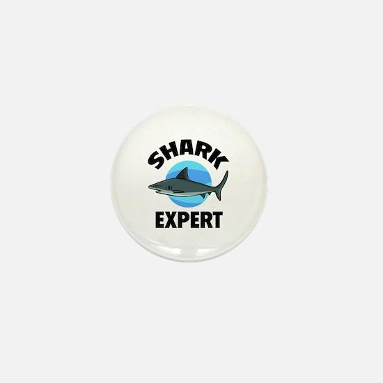 Shark Expert Mini Button