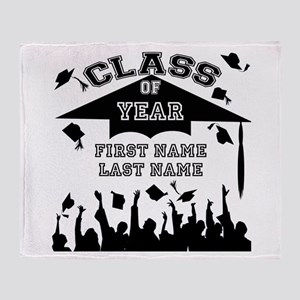 Graduation Throw Blanket