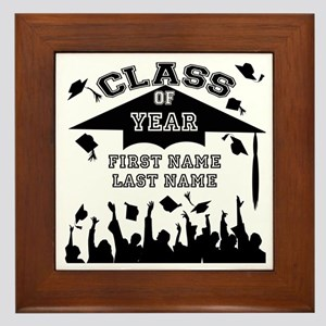 Graduation Framed Tile