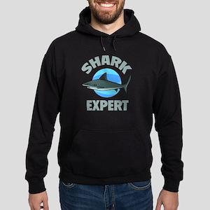 Shark Expert Hoodie (dark)