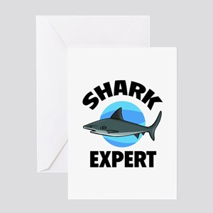 Shark Expert Greeting Card
