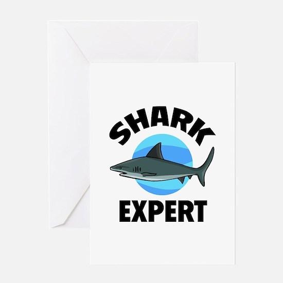 Shark Expert Greeting Card