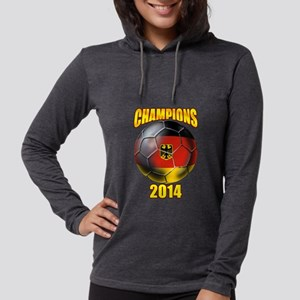 Germany World Cup Womens Hooded Shirt
