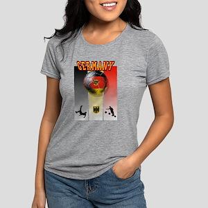 Germany Football Womens Tri-blend T-Shirt