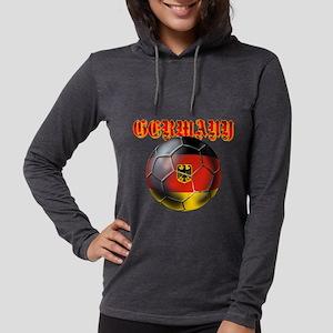 Germany Football Womens Hooded Shirt