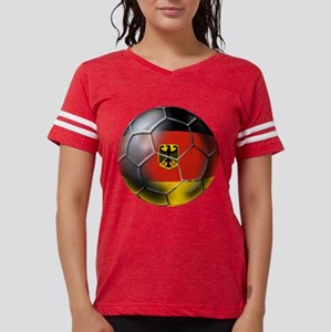 German Soccer Ball Womens Football Shirt