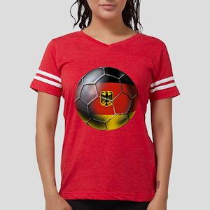German Soccer Ball Womens Football Shirt