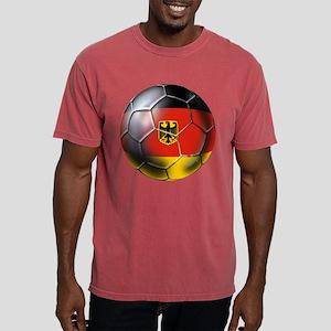 German Soccer Ball Mens Comfort Colors Shirt