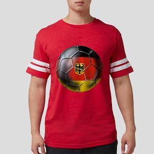 German Soccer Ball Mens Football Shirt