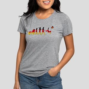 German Football Evolution Womens Tri-blend T-Shirt