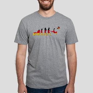German Football Evolution Mens Tri-blend T-Shirt