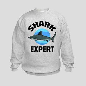 Shark Expert Kids Sweatshirt