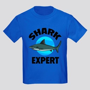 Shark Expert Kids Dark T-Shirt