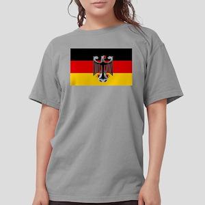 German Soccer Flag Womens Comfort Colors Shirt