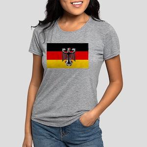 German Soccer Flag Womens Tri-blend T-Shirt