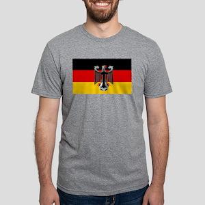 German Soccer Flag Mens Tri-blend T-Shirt