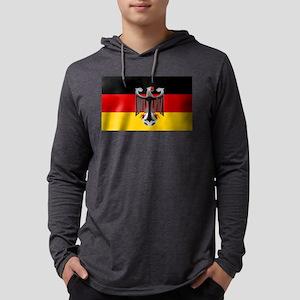 German Soccer Flag Mens Hooded Shirt