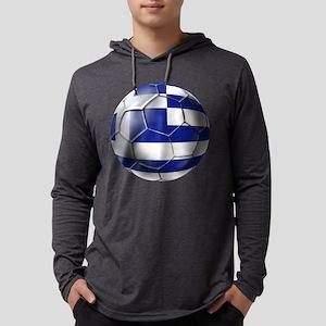 Greece Football Mens Hooded Shirt