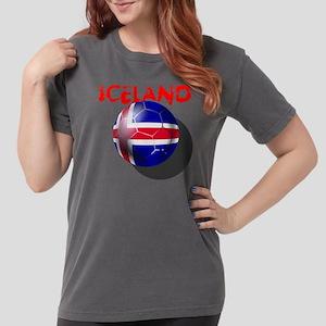 Iceland Football Womens Comfort Colors T-Shirt