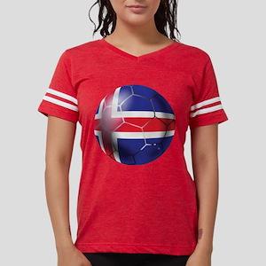 Iceland Soccer Ball Womens Football Shirt