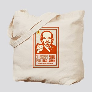 Soviet Red Army I Want You Tote Bag