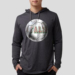 Italia Football Mens Hooded Shirt