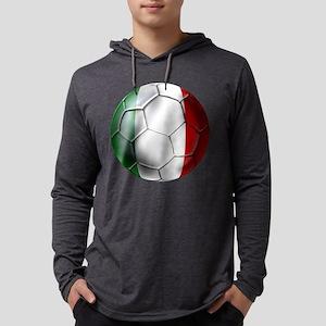 Italy Italia Football Mens Hooded Shirt