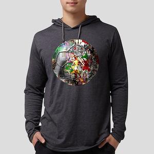 Italian Culture Ball Mens Hooded Shirt
