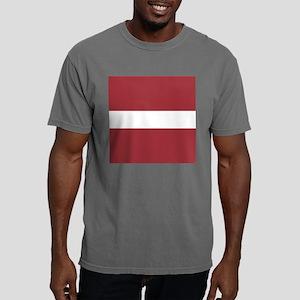 Flag of Latvia Mens Comfort Colors Shirt