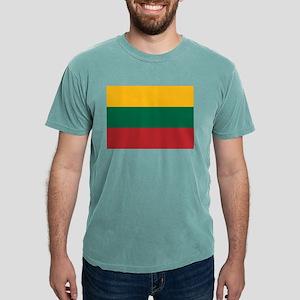 Flag of Lithuania Mens Comfort Colors Shirt