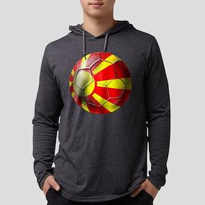 Macedonia Football Mens Hooded Shirt