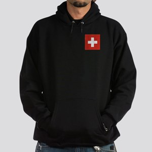 Flag of Switzerland Hoodie (dark)